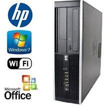 HP Dual Core Duo 3.0GHz Fast 8GB Desktop PC 1TB HDD Win 7 Pro 64 Bit & MS Office
