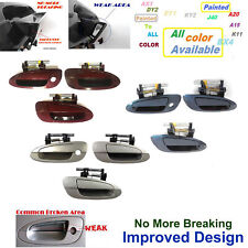 Set 3 NoMoreBreaking Outside Door Handle New For 02-2006 Nissan Altima 2.5L 3.5L