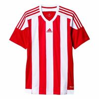 Adidas Fußball Striped 15 Trikot Herren Kurzarmshirt rot weiß