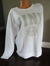 Victoria's Secret PINK Sweatshirt LOVE PINK SIZE:MEDIUM