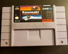 Kawasaki Caribbean Challenge SNES (Super Nintendo 1993) Fast Free Shipping.