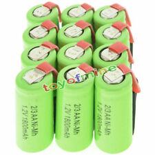 12 pcs 2/3AA 1.2V 1800mAh Ni-MH rechargeable battery