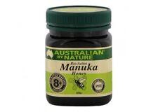 2X Australian by Nature Bio Active Manuka Honey 8+ 250 g - New Zealand Manuka Ho