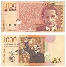 Colombia 1000 pesos 2015 P-456r Billetes Unc