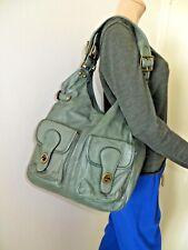 Beau sac en véritable cuir vert JIGSAW ,TBE