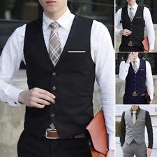 Herrenweste Hemd Anzug Business Formell Freizeit Stylisch Arbeitskleidung M-3XL