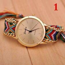 2015 New Brand Watch Handmade Braided Friendship Bracelet Women Watches