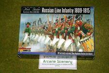 Ruso línea Infantería 1809-1815 Warlord Games Polvo Negro 28mm napoleónicas