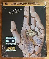 Alita: Battle Angel 4K/3D/Blu-Ray/Digital/Steelbook BEST BUY EXCLUSIVE *NEW*