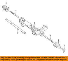 FORD OEM Steering Gear-Outer Tie Rod End 4L3Z3A130CA