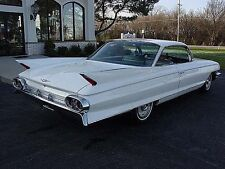1961 Cadillac Coupe Deville, Bubble top, White, Refrigerator Magnet, 40 MIL