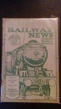 August Model Railway News Rail Transportation Magazines