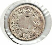 1883 Mo MEXICO 1CENT UNC- DIE ERROR