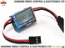 RC HobbyKing™ Compact 20 AMP 4.5-16.8V Watt Meter and Servo Power Check Analyzer