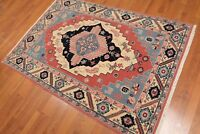4' x 6' Hand knotted Rare Romanian Serapi Wool Persian Oriental Area Rug 4x6