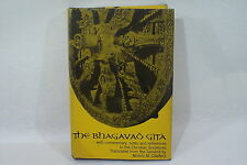 The Bhagavad Gîtâ by M.M. Chatterji Julian Press 1960 English Book