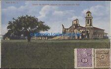 PARAGUAY IGLESIA DE HUMAITA DESPUES DEL BOMBARDEO 1889 SERIE E Nª 1 2539008