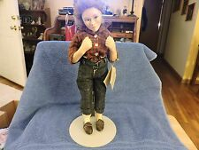 """NORMAN ROCKWELL """"THE PROM"""" COLLECTOR DOLL CURTIS PUBLISHING"""