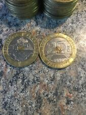 French 20 Franc 1992 Coin MONT