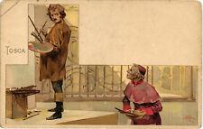 Metlicovitz - Giacomo Puccini - Opera, Serie Tosca - M104