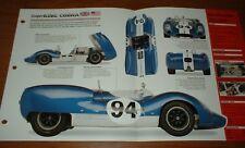 ★★ 1964 Ac Shelby King Cobra Originale Imp Brochure Specifiche Info 64 63★★