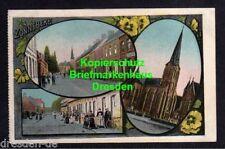 118676 AK Zonnebeke 1915 Feldpost Au Repos Kirche Dorfstraße