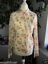 ABERCROMBIE   original   bezaubernde   leichte   Bluse   floral    Gr.M=ca.34-36