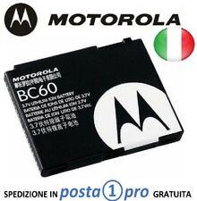 MOTOROLA BC60 BATTERIA ORIGINALE per AURA C257 C261 K1 L2 L6 L7 SLVR L9, 820mAh