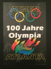 GERMANY OFFICIAL BOOKLET 1996 OLYMPIC GAMES OLYMPICS ATLANTA RIDING u352