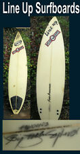 surfboard Line Up Brand Dog Pile Sa Vintage board found in San Diego Signed