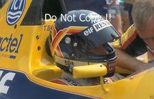 THIERRY BOUTSEN Williams F1 Ritratto Fotografia 1989 2