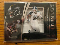 2015 Panini Black Gold Golden Days White /99 Le'Veon Bell #GDA-23 Steelers Jets