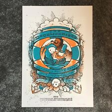 Ltd. Ed. Drew Millward Signed Screenprint The Decemberists 2007 London Concert