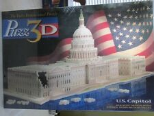SEALED 1994 PUZZ 3D U.S. Capitol Puzzle 718 Pieces