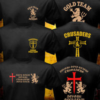 New US Crusaders Seal Team Six NSWDG Gold Team Special Force T shirt