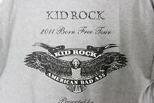 KID ROCK 2011 Born Free Tour Red Stag JIM BEAM Concert T-shirt Size XL