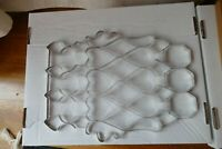 Vintage Metal Scrapless Cookie Cutters Sheet 32 Party Hearts Diamonds Leaves