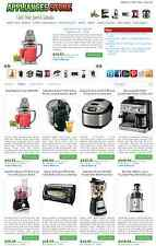 Appliances Store - Amazon, eBay , Commission Junction Affiliate Website