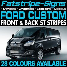 FORD TRANSIT CUSTOM ST STRIPES GRAPHICS STICKERS DECALS M SPORT DAY VAN SWB LWB