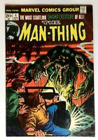 The Man-Thing #4 Marvel 1974 FN+ The Making of a Madman Comic Book