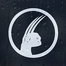 Wolverine Garras X-Man Coche Decal Pegatina De Vinilo Para Panel o Ventana O Parachoques