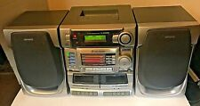 Awia Boombox CA-DW935M 3-CD Player Radio Dual Cassette Player