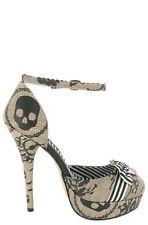 Standard Width (B) Slim Heel Synthetic Shoes for Women