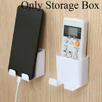 Mobile Phone Plug Holder Air Conditioner Storage Box Remote Control Organizer