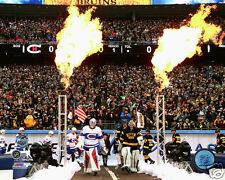 2016 NHL Winter Classic Montreal Canadiens & Boston Bruins 8x10 Photo