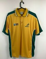 Wallabies Rugby World Cup 2011 Men's Polo Shirt Size 2XL Be Seen Brand Excellent