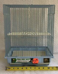 Prevue Hendryx Light Blue Bird Keet Cage #21008 Ideal For Small to Medium Birds
