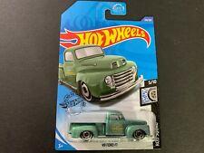 Hot Wheels Ford F1 49 Green 120/250 1/64