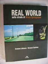 BRUCE SPRINGSTEEN - REAL WORLD - LIBRO 304 PGS ITALY
