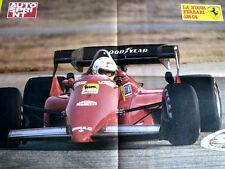 Inserto Poster Autosprint Ferrari 126 C4 Renè Arnoux